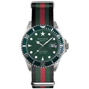 その他 OXYGEN(オキシゲン) 腕時計 Diver 40(ダイバー 40) Campo(カンポ) グリーン ds-1061985