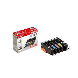 その他 【純正品】 キヤノン(Canon)対応 インクカートリッジ 5色マルチパック 大容量タイプ 1箱(5色セット) 型番:BCI-351+350/5MP ds-1100624