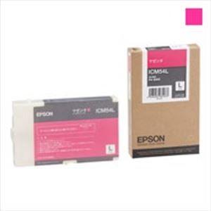 その他 EPSON エプソン インクカートリッジL 純正 【ICM54L】 マゼンタ ds-1302387