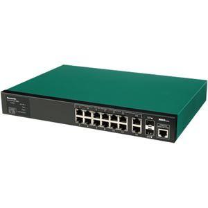 ��他 パナソニックES�ットワークス PoE Plus対応�14�ートL2スイッ�ング�ブ Switch-M12eGLPWR+ PN28128 ds-1334410