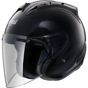 その他 ジェットヘルメット シールド付き SZ-RAM4 グラスブラック 57-58 【バイク用品】 ds-1443349