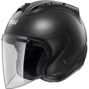 その他 ジェットヘルメット シールド付き SZ-RAM4 フラットブラック 55-56 【バイク用品】 ds-1443363