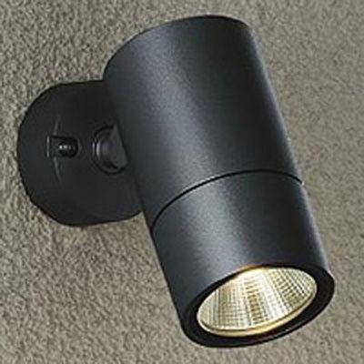 【代引手数料無料】DAIKO 大光電機 アウトドアスポットライト 黒色 cf612-BK