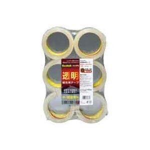その他 (業務用30セット) スリーエム 3M 透明梱包用テープ 6巻 313 6PN ×30セット ds-1742664