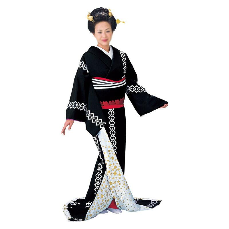 裾引き(引き摺り) =舞台衣装=