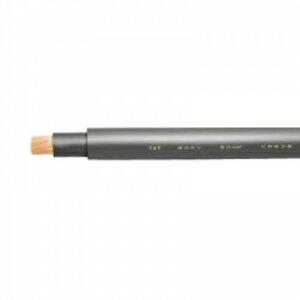 テイコク 600V 超柔軟ケーブル 機器内配線及び電源用 60㎟ 100m巻 黒 TXT-F600/60SQ*100m