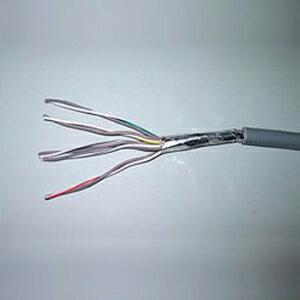 華陽電線 耐熱電線 耐燃ポリエチレンシースケーブル 0.9mm 2心 200m巻 黒色 EM-APK0.9*2C*200m
