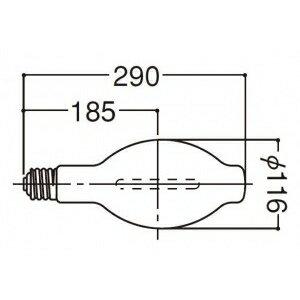 岩崎電気 サンルクスエース 拡散 360W NH360FL