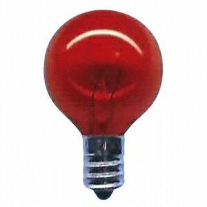 アサヒ 【お買い得品 100個セット】 透明カラー球 G30 110V5W 口金:E12 透明イエロー G30 E12 110V-5W(CY)_100set