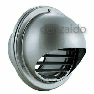 �クマ工業 丸型フード付�気� フード・ルー�ー脱�� 低圧� アミ付 �付穴付 ステンレス製 シル�ーメタリック BL�定� 200φ用 N-200SMV2BL-A10