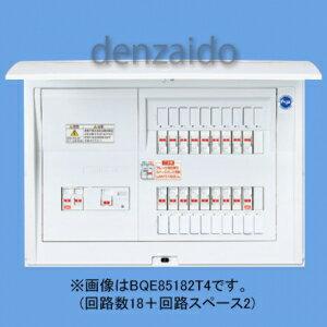 パナソニック 電気温水器・IH対応住宅分電盤 リミッタースペースなし 出力電気方式単相3線 露出・半埋込両用形 回路数38+回路スペース2 100A 《コスモパネルコンパクト21》 BQE810382T4