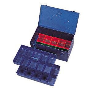 ジェフコム ニューパーツボックス 3段タイプ(中皿1個/プラボックス10個 360×200×165mm) ND-361B