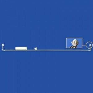 ナニワ 【ケース販売特価 20台セット】 片スプリング式 L型看板用蛍光灯ホルダー 20W形 200V 50Hz (グロー球付) KL202AC_set