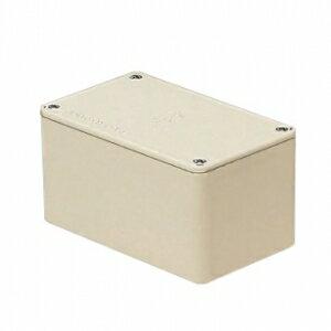 未�工業 プールボックス 長方形 ノック�� 600×500×500 ベージュ PVP-605050J