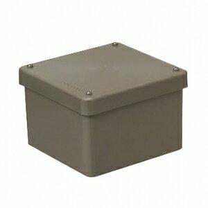 未来工業 【お買い得品 8個セット】 防水プールボックス カブセ蓋 正方形 150×150×150 ライトブラウン PVP-1515BLB_8set