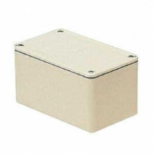 未来工業 防水プールボックス 平蓋 長方形 ノックなし 600×400×400 ミルキーホワイト PVP-604040AM