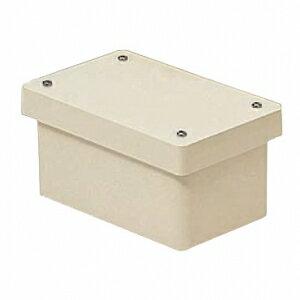 未来工業 防水プールボックス カブセ蓋 長方形 ノックなし 600×500×500 ベージュ PVP-605050BJ
