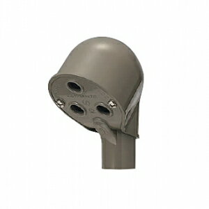 未来工業 【お買い得品 10個セット】 エントランスキャップ 適合管:VE54 ライトブラウン MEC-54LB_10set