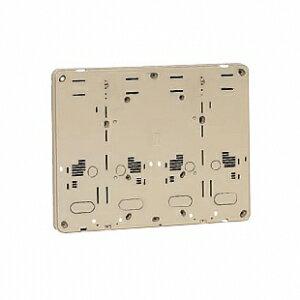 未来工業 【お買い得品 10個セット】 積算電力計・計器箱取付板 ベージュ BP-2WJ_10set