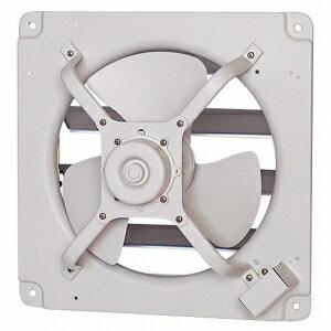 三菱 高静圧形工業用換気扇 シャッター付 排気形 風圧式 単相100V 羽根径:40cm E-40S4