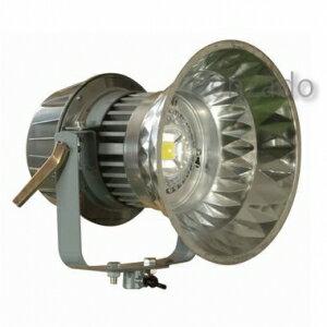 日動工業 LEDメガライト 70W 投光器式 ダイヤモンドカット 防雨型 水銀灯400W相当 色温度6000K LEN-70PE/D-5ME