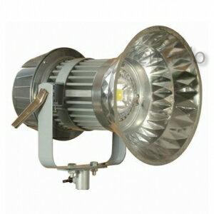 日動工業 LEDメガライト 100W 投光器式 ダイヤモンドカット 防雨型 水銀灯400Wの1.5倍相当 色温度6000K LEN-100PE/D-5ME