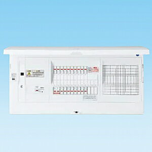 パナソニック AiSEG通信型 �宅分電盤 大形フリースペース付 リミッタースペース�� 露出・�埋込両用形 回路数34+回路スペース3 《スマートコスモ コンパクト21》 BHND84343