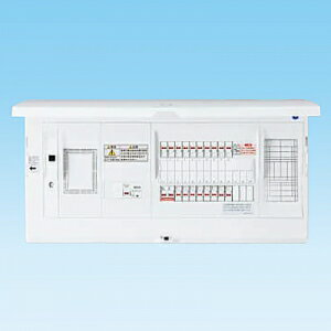 パナソニック AiSEG通信型 �宅分電盤 フリースペース付 リミッタースペース付 露出・�埋込両用形 回路数34+回路スペース3 《スマートコスモ コンパクト21》 BHNF35343