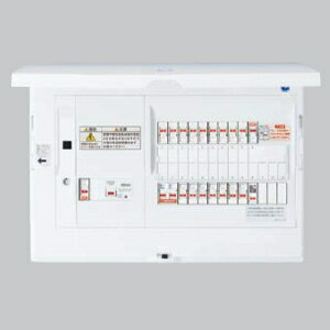 パナソニック AiSEG通信型 住宅分電盤 EV・PHEV充電回路・エコキュート・IH対応 ブレーカ容量20A リミッタースペースなし 主幹容量100A 《スマートコスモ コンパクト21》 BHN81303T2EV