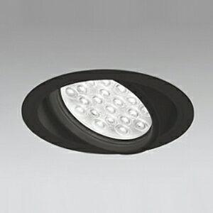 オーデリック LEDユニバーサルダウンライト M形 埋込穴φ150 HID100Wクラス LED24灯 配光角20° 非調光 本体色:ブラック 電球色タイプ 3000K XD258834F