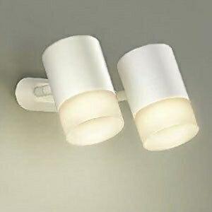 DAIKO LEDスポットライト フランジタイプ 白熱灯100W×2灯タイプ 電球色 非調光タイプ 天井付・壁付兼用 DSL-4706YW