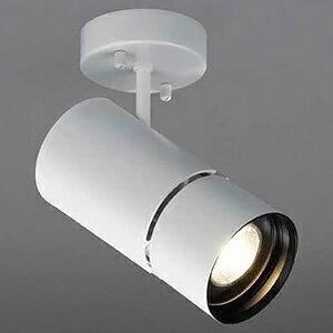 山田照明 LED一体型スポットライト フランジタイプ 調光対応 HID35W相当 白色 配光角度39° 天井・壁付兼用 SD-4436-W