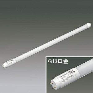 アイリスオーヤマ 【ケース販売特価 20本セット】 直管LEDランプ 《ECOHiLUX HES-GF》 20形 白色 G13口金 ガラス管タイプ 飛散防止膜付 LDGF20T・W/7/10P_set