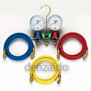 タスコ HC冷媒用ゲージマニホールドキット 92cm TA127-1