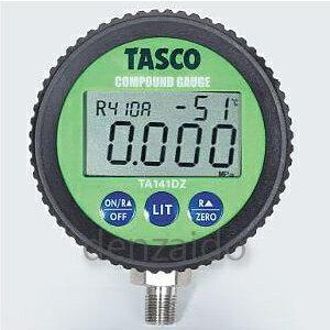 タスコ デジタル連成計 ゲージ径:78Φ TA141DZ