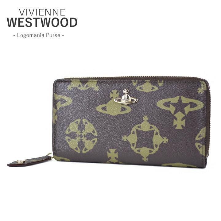 ヴィヴィアンウエストウッド 財布Vivienne WestwoodLogomania Purse 32634  【西日本】