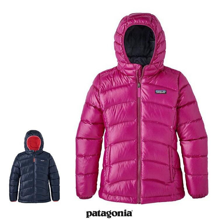 2017FW 新作 Patagonia パタゴニア 68212 ガールズ・ハイロフト・ダウン・セーター・フーディ キッズ 子供 Girls' Hi-Loft Down Sweater Hoody