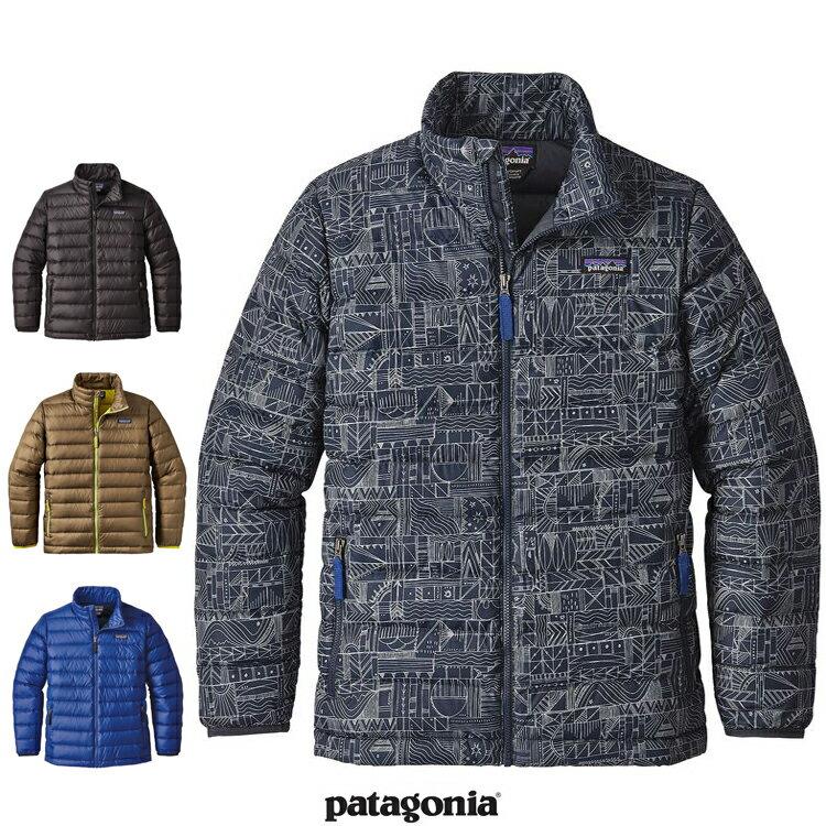 2017FW 新作 Patagonia パタゴニア 68245 ボーイズ・ダウン・セーター ジャケット キッズ 子供Boys' Down Sweater Jacket