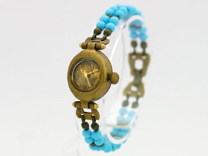 送料無料 Ks NAT手作り腕時計