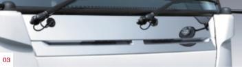 NISSAN 日産 ATLAS アトラス NT450 日産純正 メッキフロントカバー○ワイドキャブ車用 【対応年式2014.4~次モデル】