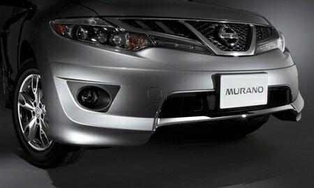 NISSAN 日産 MURANO ムラーノ 日産純正 フロントエアロバンパー(カラー:A) 2011.01~次モデル