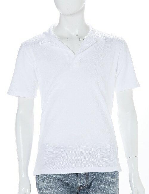 ハイドロゲン HYDROGEN ポロシャツ メンズ 160003 ホワイト 3000円OFF クーポンプレゼント HYD底値挑戦