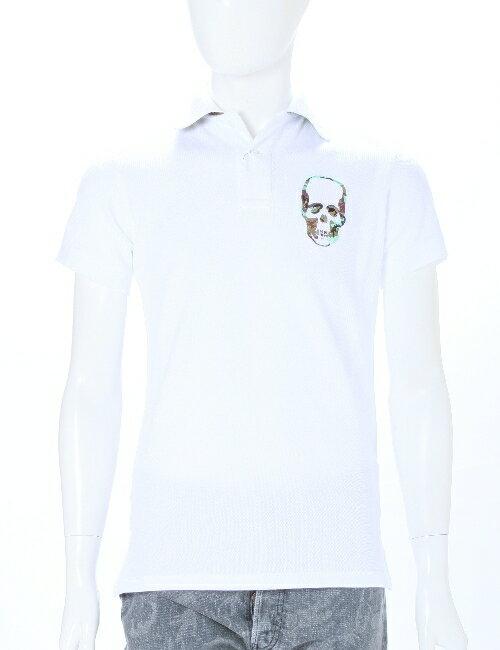 ルシアンペラフィネ lucien pellat-finet ペラフィネ ポロシャツ メンズ EVH1646 ホワイト 送料無料 アウトレット 3000円OFF クーポンプレゼント 目玉商品3弾