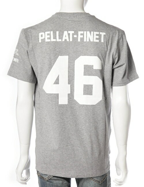 ルシアンペラフィネ lucien pellat-finet ルシアンペラフィネ Tシャツ メンズ EVH1730 グレー 目玉商品 3000円OFF クーポンプレゼント