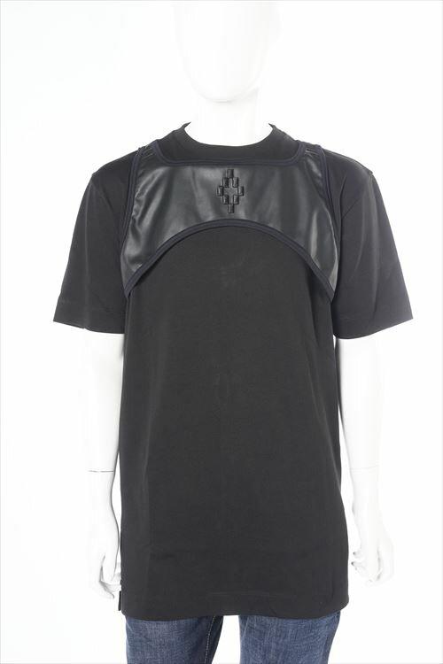 マルセロバーロン MARCELO BURLON Tシャツ 半袖 丸首 メンズ CMAA013S 011053 ブラック 送料無料 楽ギフ_包装 2016SS_SALE 3000円OFF クーポンプレゼント