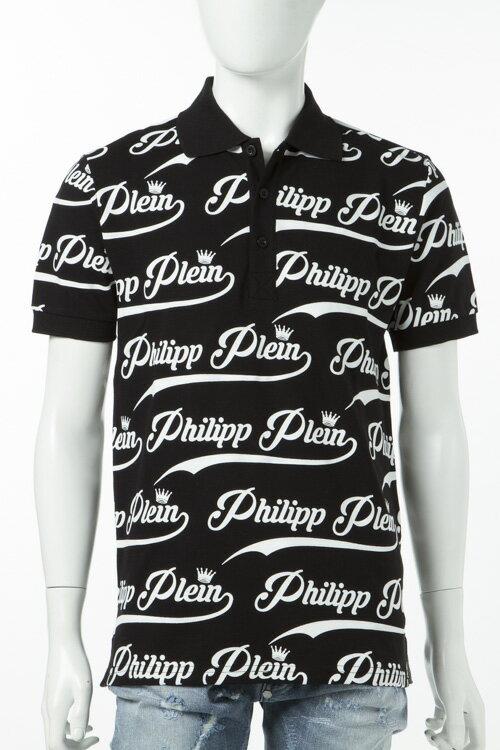 フィリッププレイン PHILIPP PLEIN ポロシャツ 半袖 メンズ S17C MTK0055 ホワイト 送料無料 楽ギフ_包装 3000円OFF クーポンプレゼント 2017SS_SALE