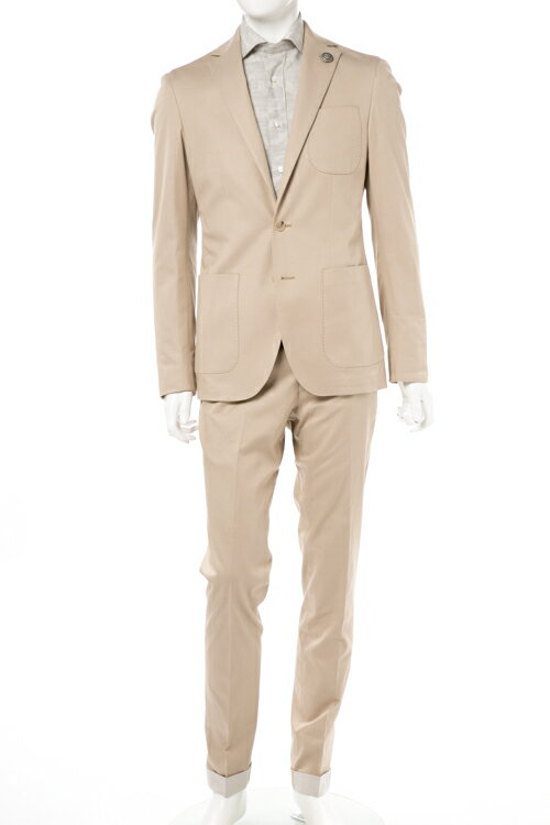 ハイドロゲン HYDROGEN スーツ ビジネススーツ 2つボタン シングル メンズ 200316 ベージュ 送料無料 3000円OFF クーポンプレゼント 2017SS_SALE