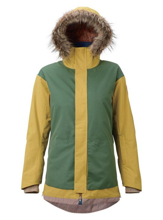 バートン 18モデル ウィメンズ ウェア Burton Zany Jacket Well-Loved Patching / Uluru スノーボード