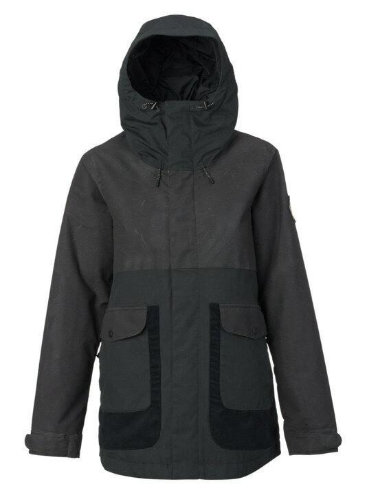 バートン 18モデル ウィメンズ ウェア Burton Cerena Parka Jacket True Black スノーボード