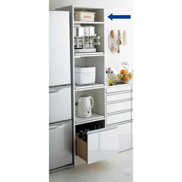 幅が選べるすっきり家電収納庫 幅37.5cm